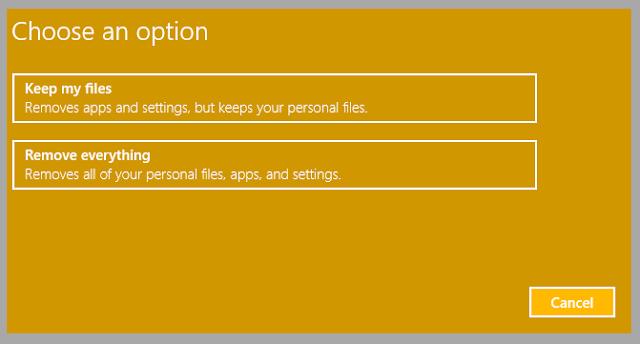 image5 - هل تعلم انه بامكانك اعادة ارجاع حاسوبك الى وضعه الجيد دون الحاجة الى فرمته