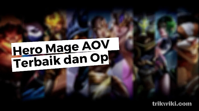 Review 5 Hero Mage Terbaik di Games AOV Paling Sakit