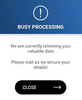 myDStv app error