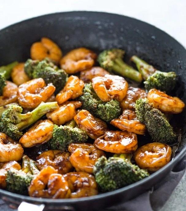 Quick Shrimp Teriyaki Stir-Fry