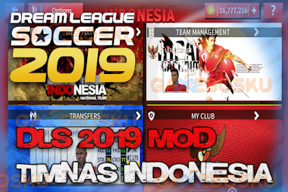 Dream League Soccer 2019 MOD Timnas Indonesia V 6.12