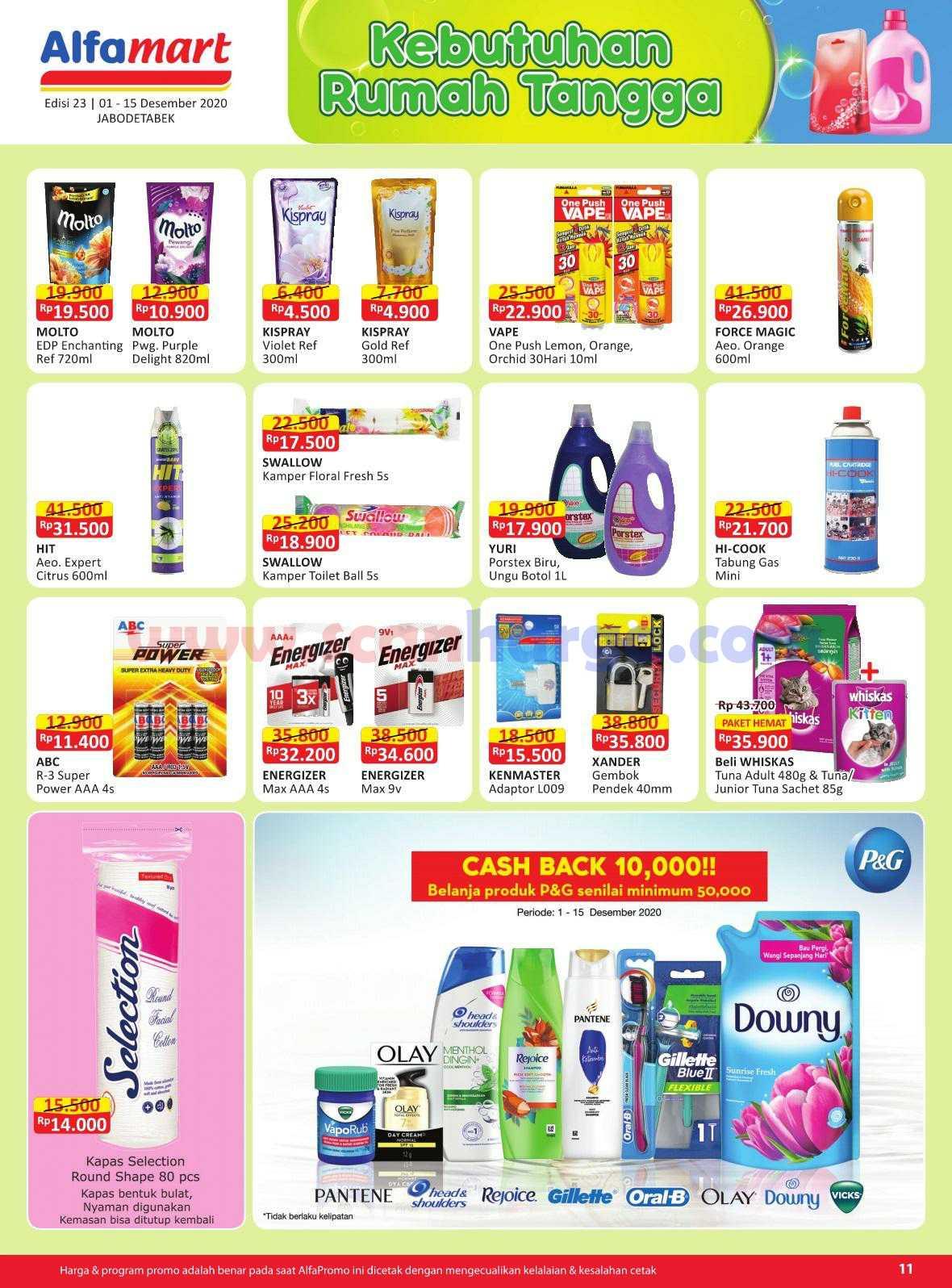 Katalog Promo Alfamart 1 - 15 Desember 2020 11