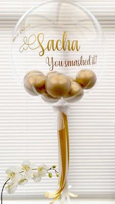 Personal Bubble Balloon by Jacqui Pettitt of Tiffany's Balloons - UK