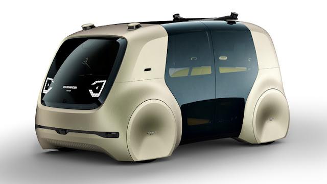 2017 Volkswagen Sedric Concept - #Volkswagen #Concept_car