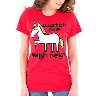 unicorn tshirt by goodie two sleeves