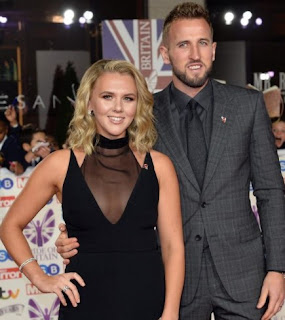 Picture of Katie Goodland with her husband Harry Kane