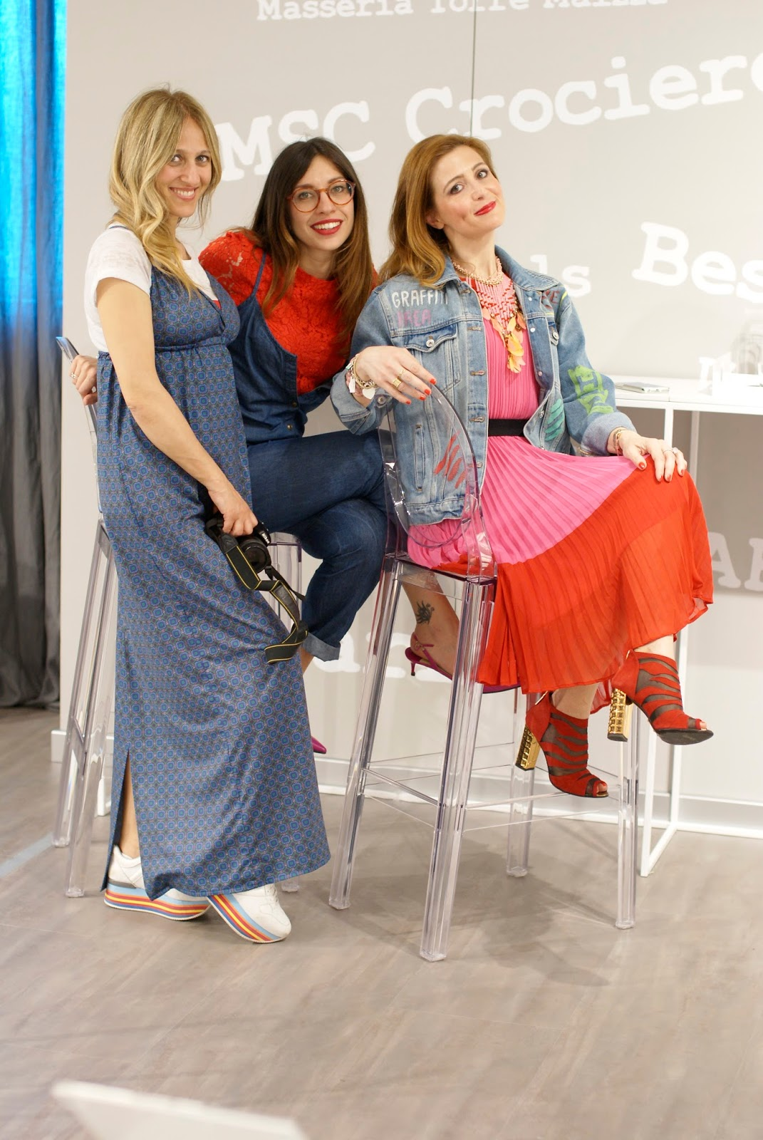 BlogTour at Dorelan: Angela Pavese, Iolanda Corio and me on Fashion and Cookies fashion blog, fashion blogger style