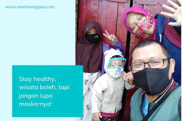 selamat wisata ke kabupaten semarang tapi jangan lupa pakai masker ya!
