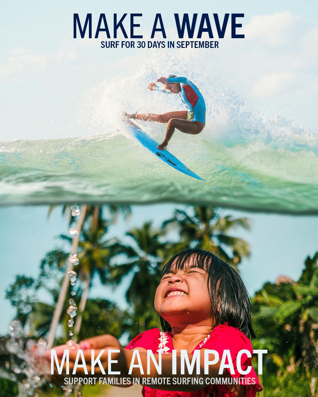 SurfAid Make A Wave