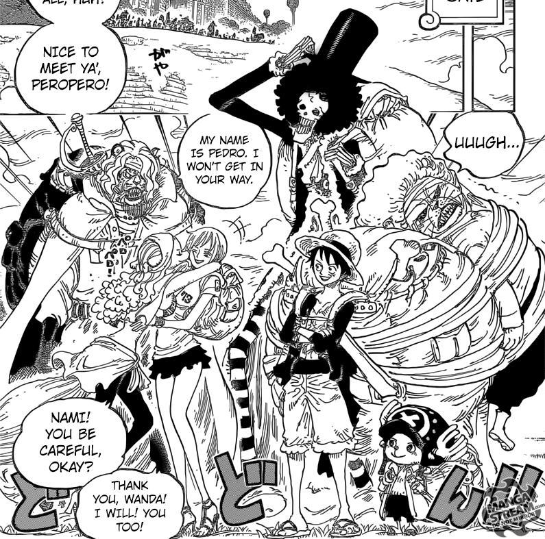 luffy x nami chapitre 1