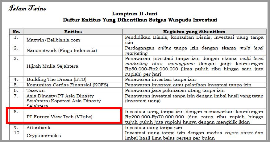 legalitas Vtube Kominfo