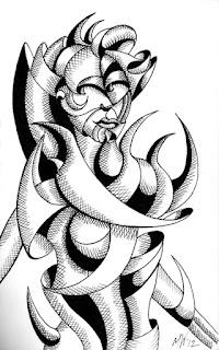 Mark Webster Artist - Figurative Ink