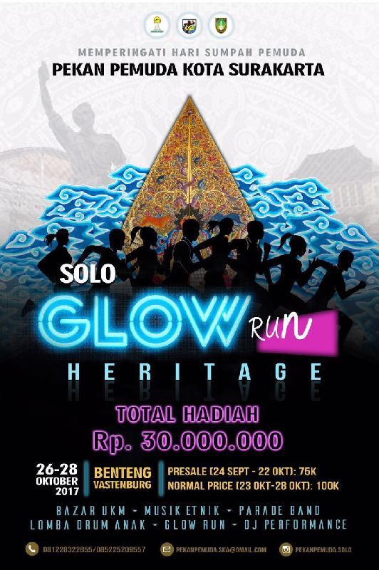 Solo Glow Run Heritage • 2017