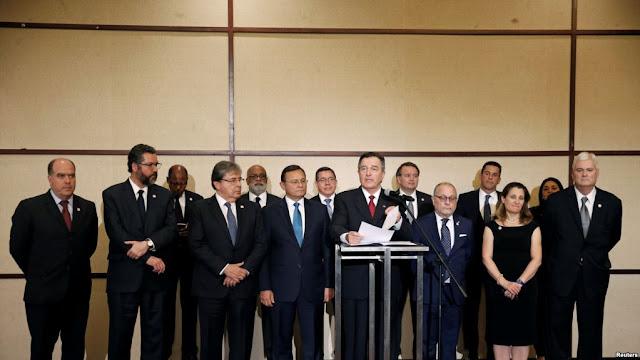 AMÉRICA: Grupo de Lima exhortó a la comunidad internacional a tomar más medidas contra Maduro.