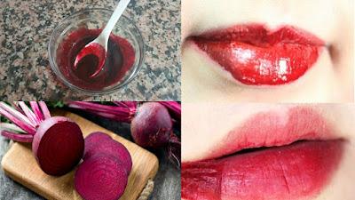 Recette pour avoir des lèvres rouges naturellement dès la première application