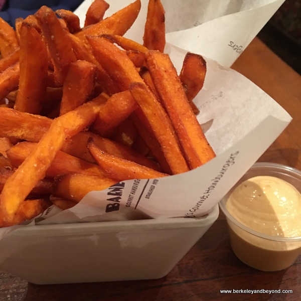 sweet potato fries at Barney's Gourmet Hamburgers in Berkeley, California