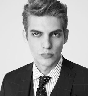 Mango Man, spring 2016, Baptiste Radufe, supermodel, lookbook, Made in Spain, gentleman, Suits and Shirts,
