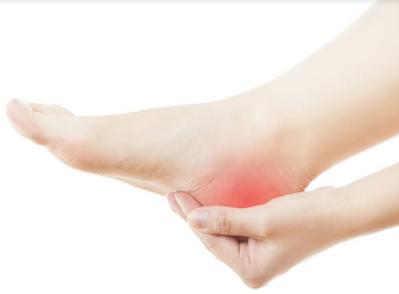 Pain in heels