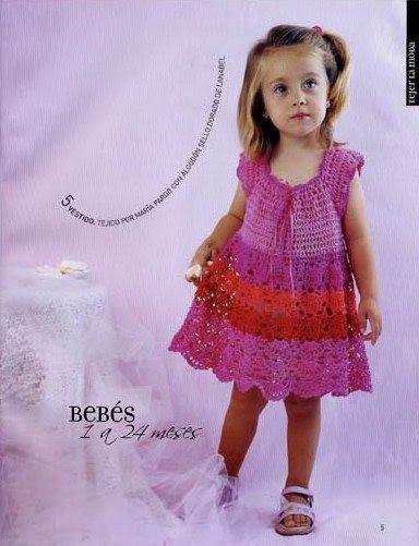 revista tejer la moda para niños y bebes