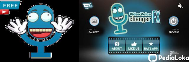 Aplikasi Video Voice Changer FX