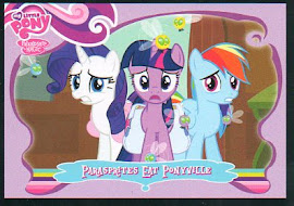 My Little Pony Parasprites Eat Ponyville Series 1 Trading Card