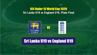 Who will win Today ICC U19 World Cup, Plate Final Match SLU vs ENU