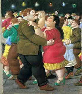 Baile (Fernando Botero, Medellín 1932)