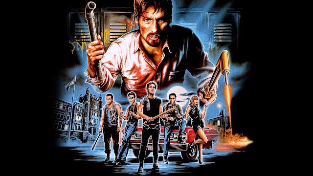Wallpaper pandillas callejeras - Película Clase de 1984
