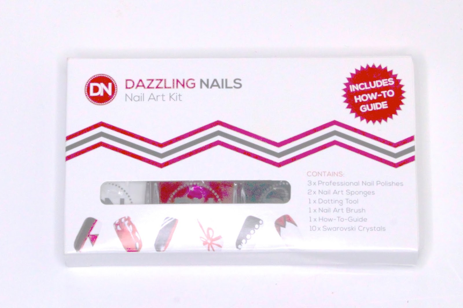 A Christmas Gift for Your Sister - The Nail Art Kit by Dazzling Nails (And one for you x)