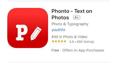 Aplikasi Phonto