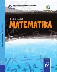 Buku Matematika Guru Kelas 9 k13 2018