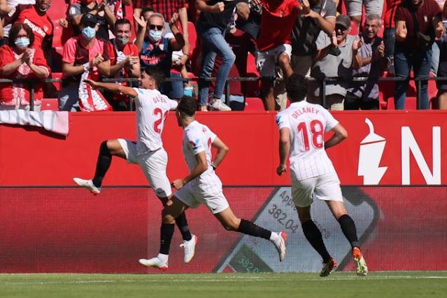 Crónica Sevilla 5 - Levante 3