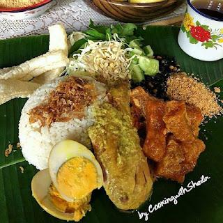 Nasi Gurih khas Yogyakarta