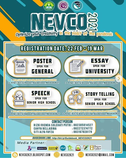 NEVCO (National English Virtual Competition) 2021