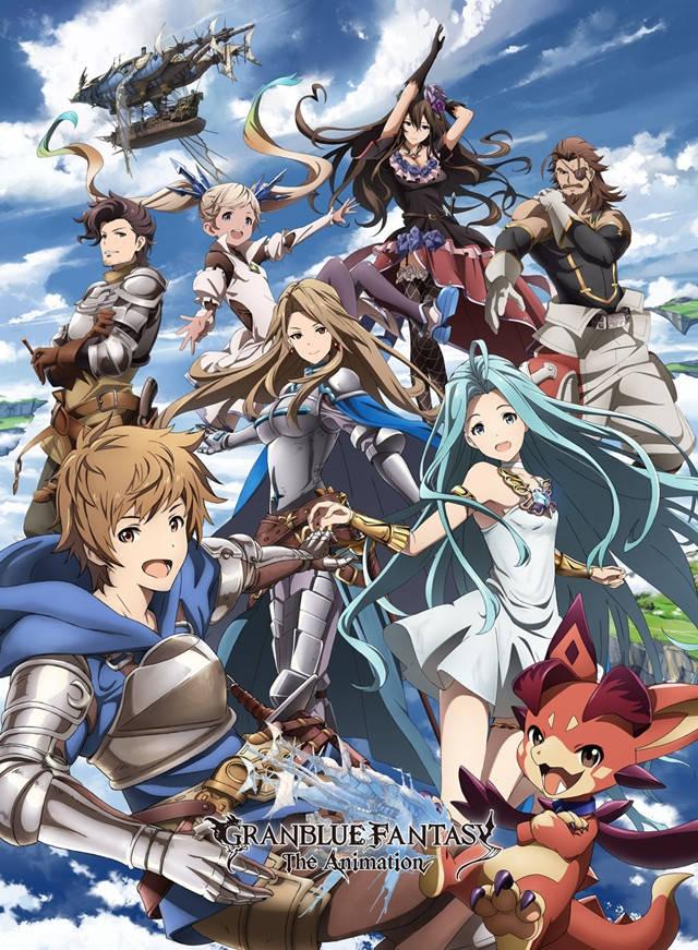 Plakat anime Granblue Fantasy