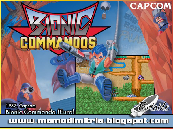 Bionic Commando PC [Clásico] Arcade Portable [ZS]