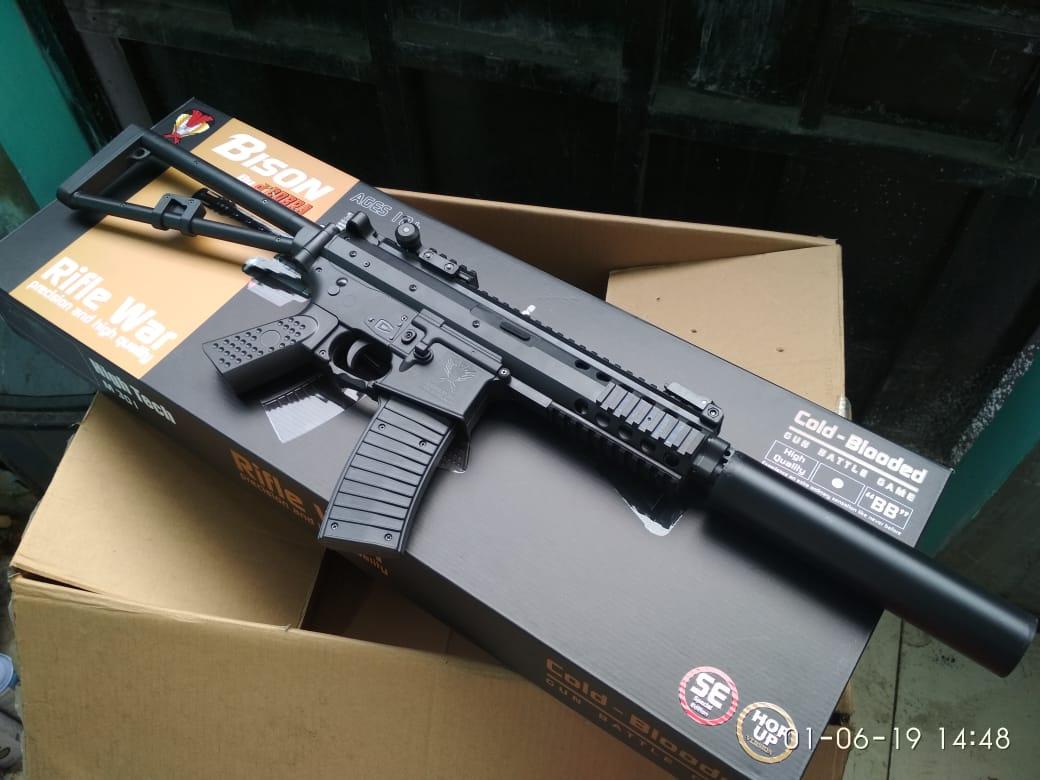 Jual Airsoft Gun Kac Pdw Black