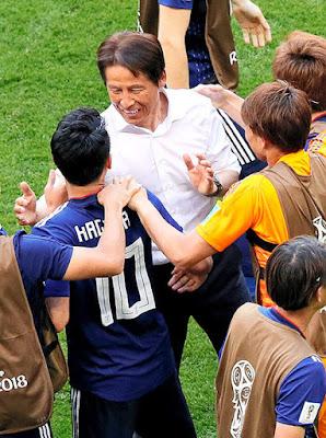 2018FIFAワールドカップ 日本対コロンビア