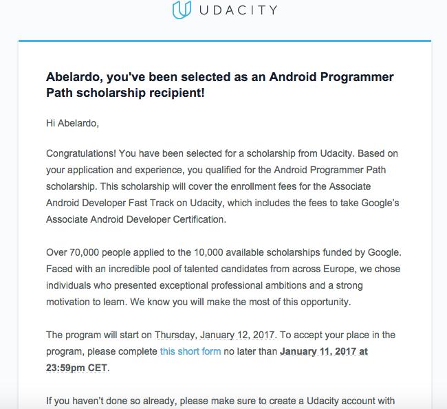 Certificación Android