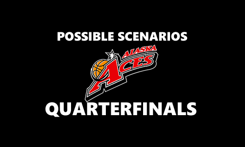 List of Scenarios for Alaska Aces 2017 PBA Commissioner's Cup