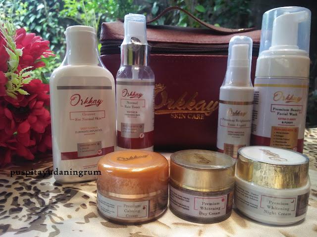 Orkkay Skincare merupakan skincare lokal yang sudah memiliki sertifikat halal dan teruiji BPOM