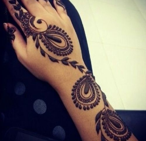 11 Best Peacock Henna Mehndi Designs  Bling Sparkle