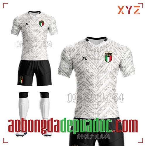 Áo Ý 2020 Sân Khách Màu Trắng Đẹp Và Độc