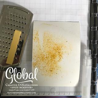 Step 1:  Soft Pastels Backgound | Nature's INKspiraitons by Angie McKenzie