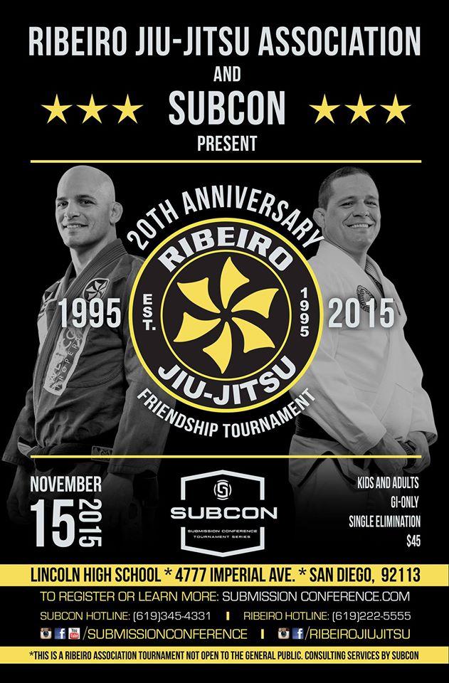BJJ ONE NEWS: Ribeiro Jiu-Jitsu Association's Friendship