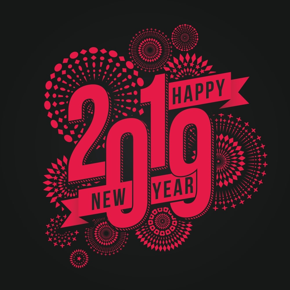 Happy New Year 2019 Good Morning Wish Images For Whatsapp Happy