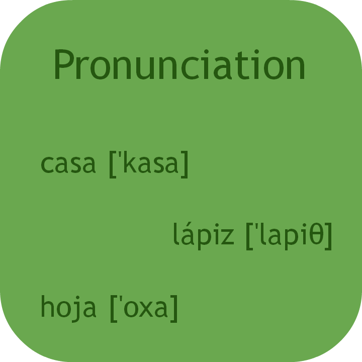 Learn easy Spanish pronunciation. Visit www.soeasyspanish.com