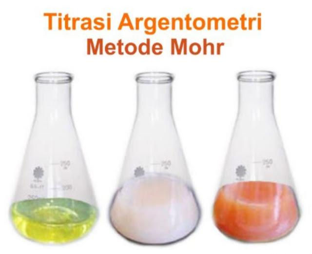 Titrasi Pengendapan Dengan Metode Perhitungan Argentometri