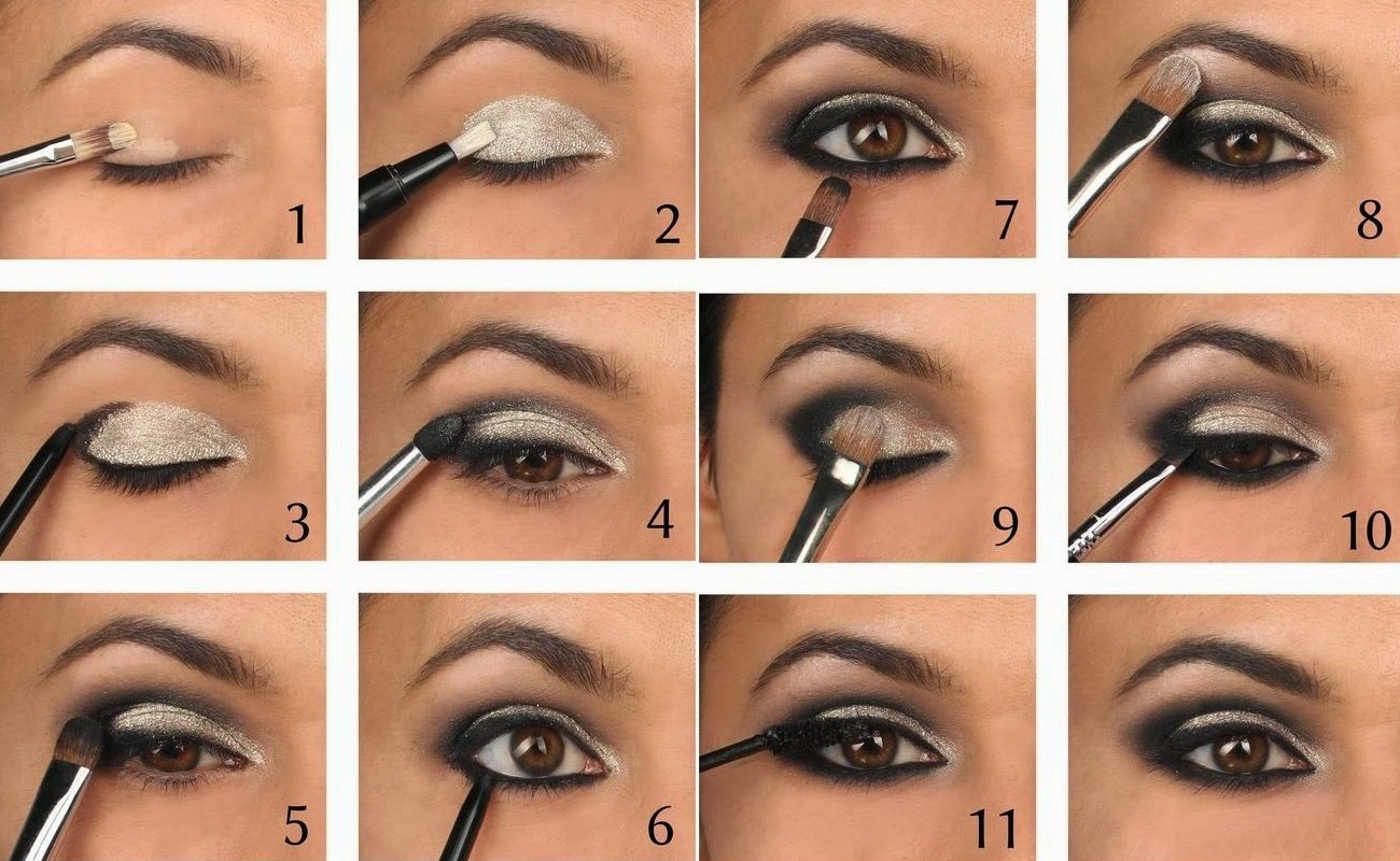 how to do easy brown smokey eye makeup | indian beauty touch