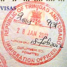 Trinidad y Tobago desmiente suspensión de visas para venezolanos